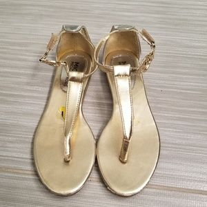 Other - Girls MK Gold sandals size 1